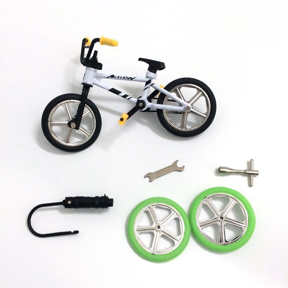 Mini Bike Toy Alloy BMX Finger Bicycle Model Bike Fans Kids Children Toy Gift Decoration Fun Novelty Bicycle Gift 11cm X 7cm