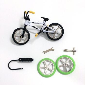 Minirower Toy Alloy BMX rower na palec Model rower fani dzieci zabawki dla dzieci na prezent dekoracja zabawa nowość rower prezent 11cm x 7cm