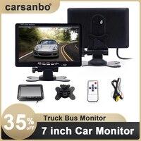 Professionelle Auto Monitor Lkw Bus Fahrzeug 7 Zoll TFT Hohe Qualität Auto Monitor für Auto Rückansicht Kamera Parkplatz Reverse system
