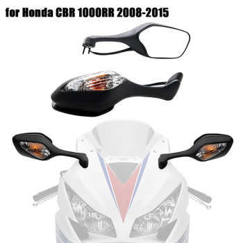 2017 CBR1000RR Motorcycle Rear View Mirrors Rearview Mirror With Turn Signal Light For Honda CBR 1000RR CBR 1000 RR 2008-2017