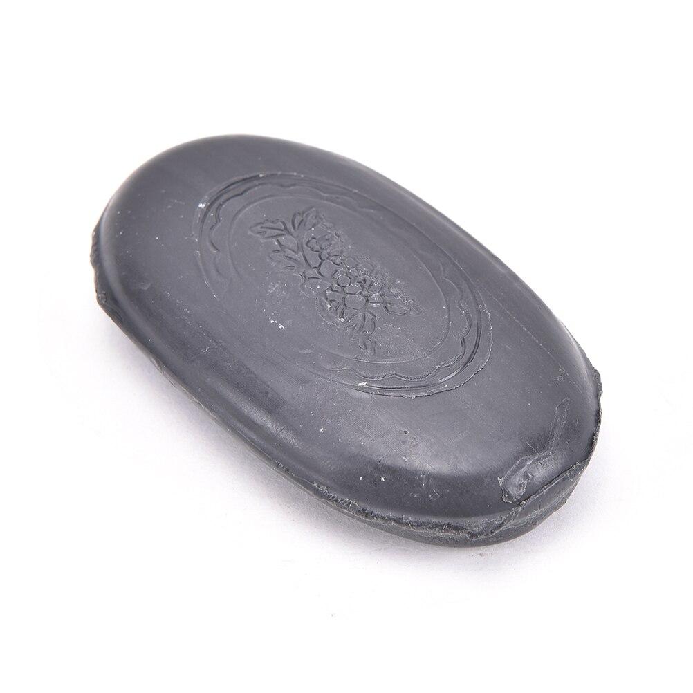 1 шт., турмалиновое мыло для лица и тела, прозрачное, антибактериальное, веснушки, Красота и здоровье, активная энергия, мыло из черного бамбукового угля