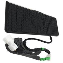 ABGN Hot bezprzewodowa ładowarka samochodowa ładowarka do telefonu komórkowego bezprzewodowa ładowarka qi do Bmw F25 F26 X3 X4 w Ładowarki od Elektronika użytkowa na