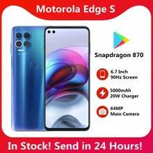 Motorola Original borde s 6 s 4 s 3G 128G 5G teléfono inteligente 6,7