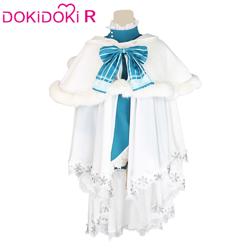 DokiDoki Anime Cosplay Love Live Cosplay LoveLive! School idol project Christmas Unidolized Costume Women Halloween Costume 1