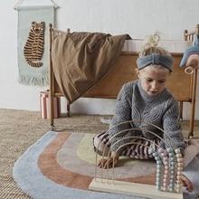 Carpet Play-Mat Crawling Bedroom Rainbow Baby Kids Children Game-Pad Floor-Rug Nursery-Decor