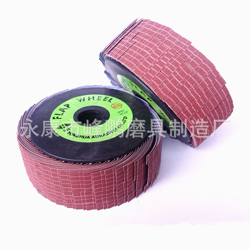 Polishing Abrasive Band Wire Wheel Thousands Of Silk Round Abrasive Band Polishing Wheel Shoe Woodworking Sanding Wheels