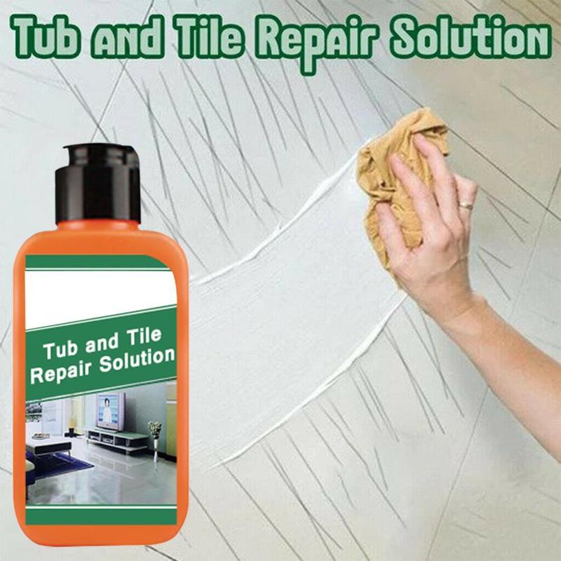 100ml Ceramic Tile Scratch Repair Agent  Magic Tile Metal Scratch Repair Agent Bathtub Tub And Tile Refinishing Spray Repair