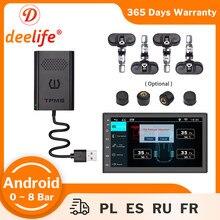 Sensor interno externo do sistema de monitoramento da pressão dos pneus do rádio do automóvel para o leitor de dvd do carro