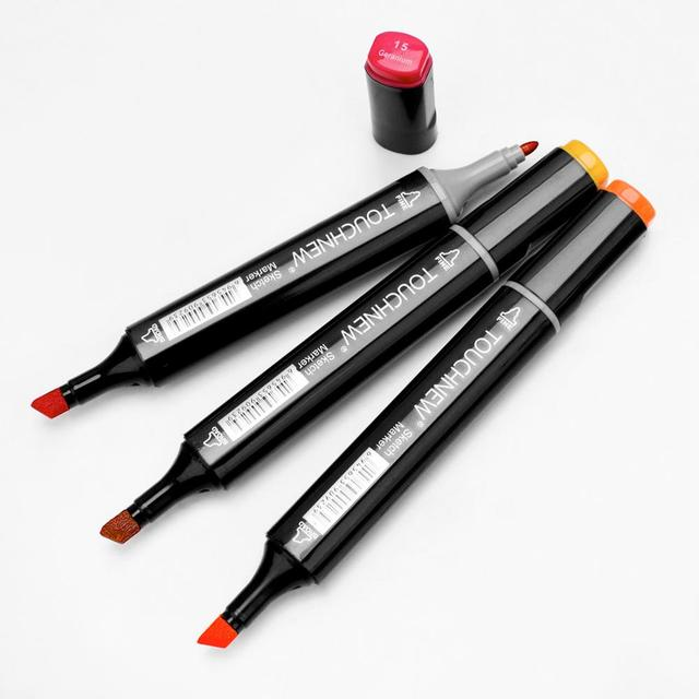 Markers TouchNew Drawing Painting Set Sketch Pens Art Markers Brush 20 30 40 60 80 Colors Alcohol Based Art Supplies Colors pen 3