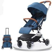 5.8Kg Lightweight Portable Folding Luxury Baby Strollers On Plane Yoya Hot Mom Baby Stroller Four Wheels Trolley Travel Pram