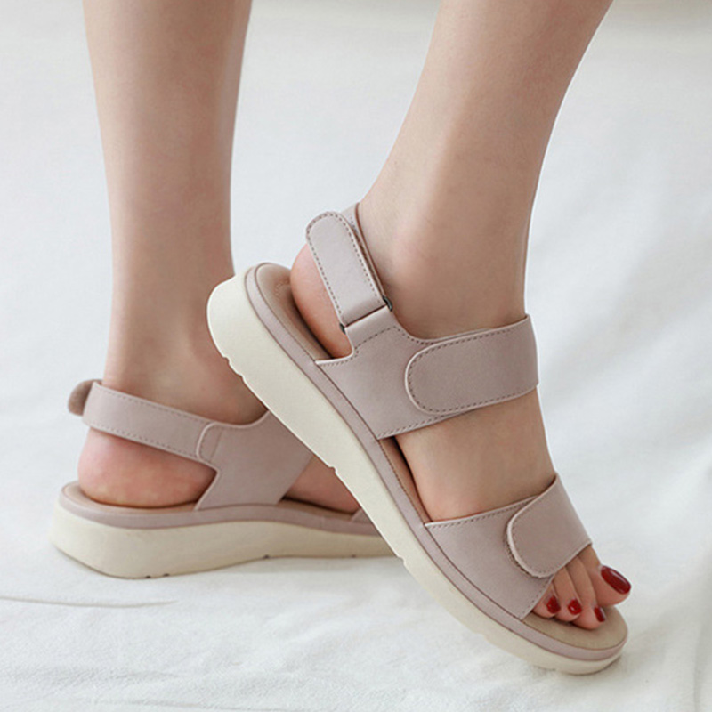 2020 Summer Shoes Women Sandals Holiday Beach Wedges Sandals Women Slippers Soft Comfortable Ladies Summer Slippers A2121 5