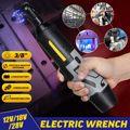 Doersupp 12 V/18 V/28 V 1/4 3/8 Llave eléctrica recargable 50Nm Juego de Herramientas de trinquete inalámbrico portátil batería de iones de litio