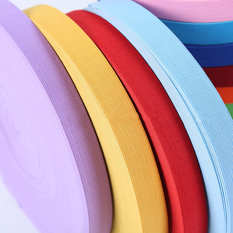 2meters 20mm Colorful Elastic Bands Rope Rubber Band 2cm Spandex Ribbon Sewing Lace Trim Waist Band Garment Accessory 1M