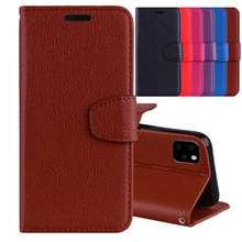 цена на Litchi Pattern Leather Case For Samsung Galaxy S3 S4 S5 S6 S7 Edge S8 S9 S10 Plus S10 Lite S3 S3 S5 MINI Note 8 Wallet Flip Case