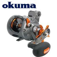 OKUMA Fishing Reel Coldwater Line Counter Reel Full Carbonite Drag System Lightweight corrosion resistant frame Baitcasting Reel
