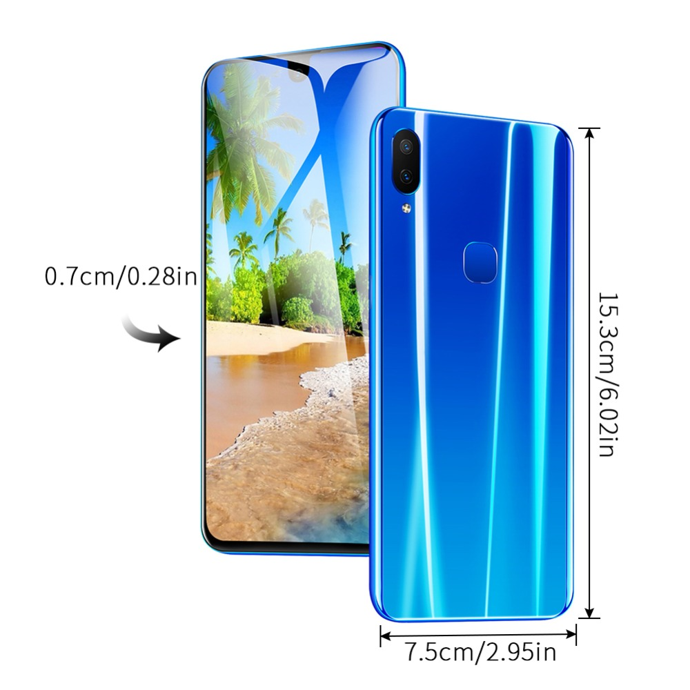 Global Version UMIDIGI A5 PRO Android 9.0 Octa Core 6.3' FHD+ Waterdrop 16MP Triple Camera 4150mAh 4GB RAM 4G Celular Smartphone (23)