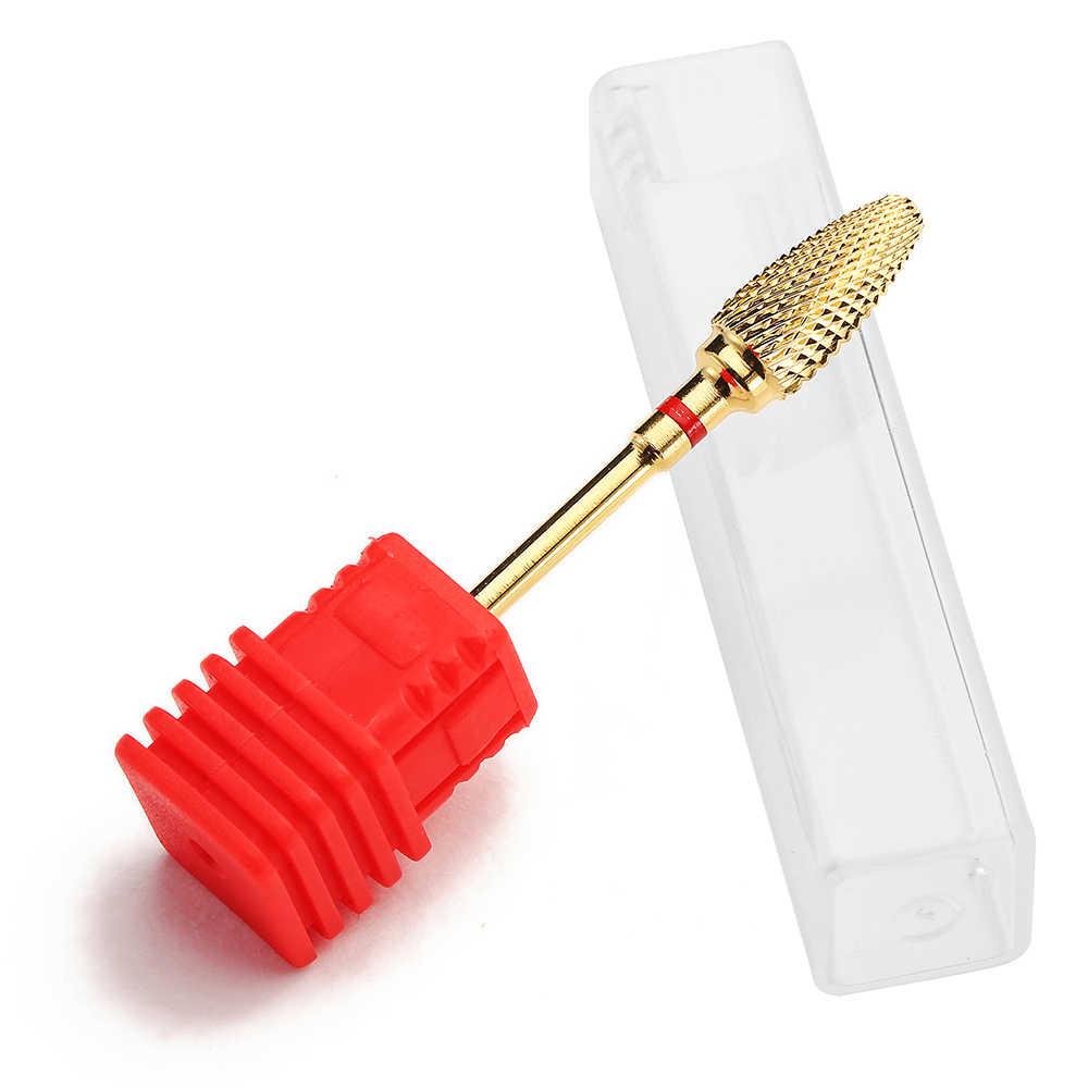 كربيد التنغستن أظافر سيراميك مثقاب الخشب لدغ قاطعة المطحنة ل آلة أظافر بت الكهربائية قاطعة المطحنة للأظافر أدوات