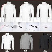 Новая одежда для гольфа, мужская спортивная одежда с длинными рукавами, бархатная куртка, осенняя и зимняя толстовка