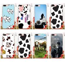 Animal Cute Cow Face Soft TPU Stylish Case For Xiaomi Mi3 Mi4 Mi4C Mi4i Mi5 Mi 5S 5X 6 6X 8 SE Pro Lite A1 Max Mix 2 Note 3 4(China)