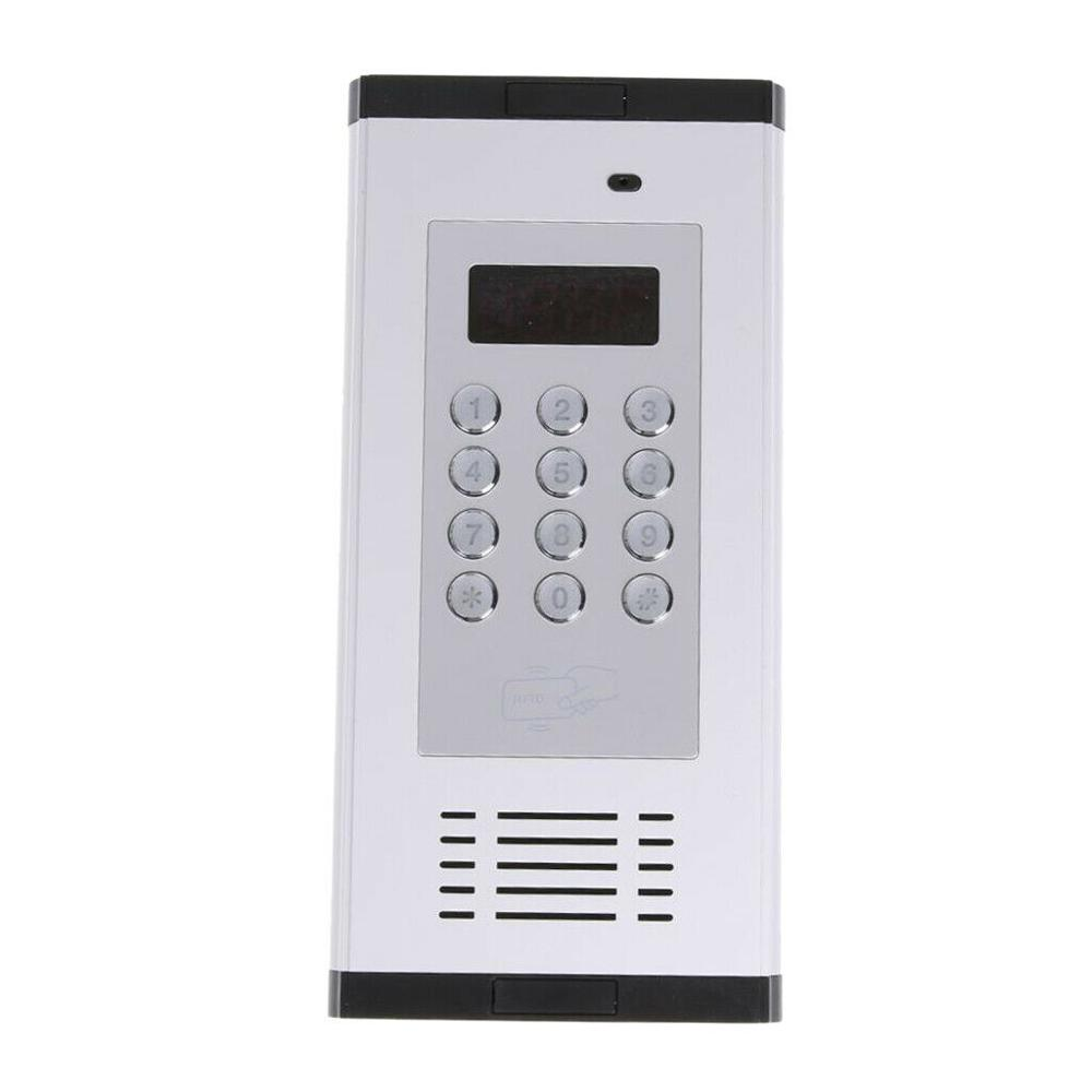 RFID 3G GSM Intercom Wireless Door Lock Gate Opener Access 200 Users Apartment Villa Intercom