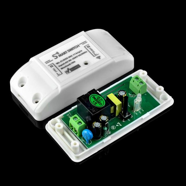 Tuya Wifi Switch DIY Wireless Remote Domotica Light Smart Home Automation Relay Module Controller Work with Alexa 3