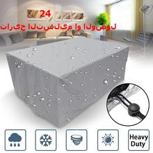 72 Size Patio Waterproof Cover Outdoor Garden Furniture Covers Rain Snow Chair Covers for Sofa Table Chair Dust Proof Cover