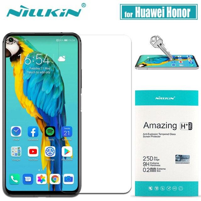 Dla Huawei Honor V30 20 Pro 10 9X 8X szkło Nillkin 9H twarde szkło hartowane ochronne dla Huawei Honor V30 20 Pro