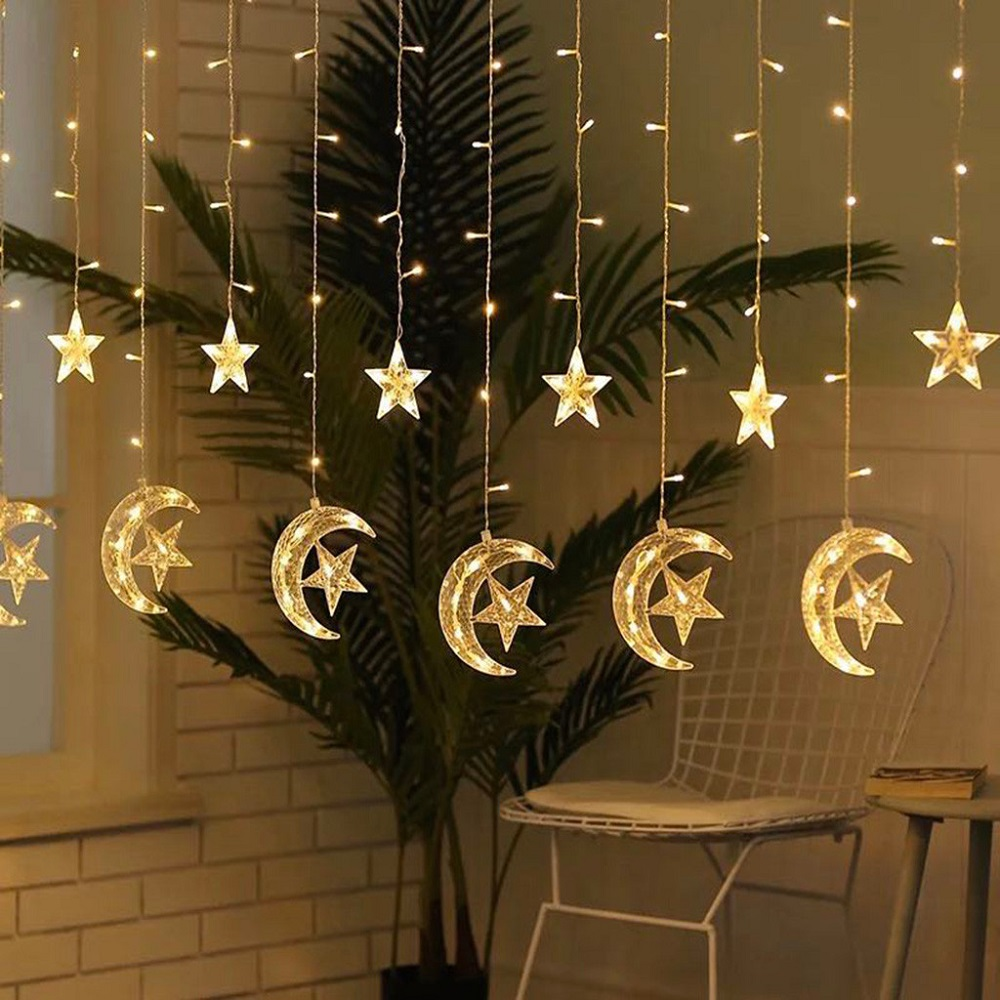 1.5M/3M/4.5M/6M/10M LED Star Fairy Garland String Lights Novelty For New Year Christmas Wedding Home Indoor Decoration