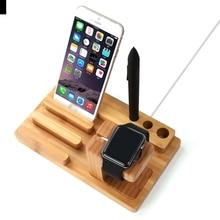 URVOI подставка для Apple Watch series 5 4 3 2 1 бамбуковый держатель для iWatch деревянный стол Хранитель коллекция современный дизайн 38 40 42 44 мм
