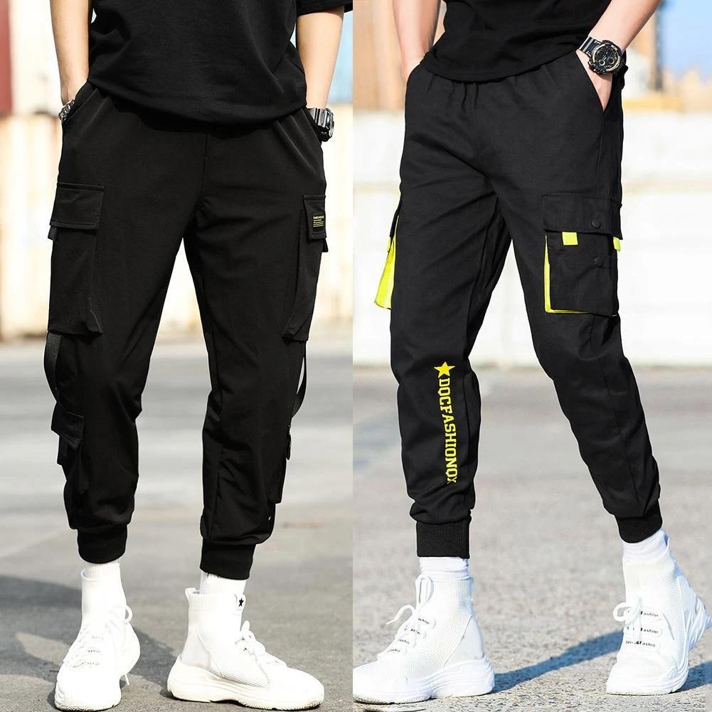 Mens Black 5 Pocket Pants