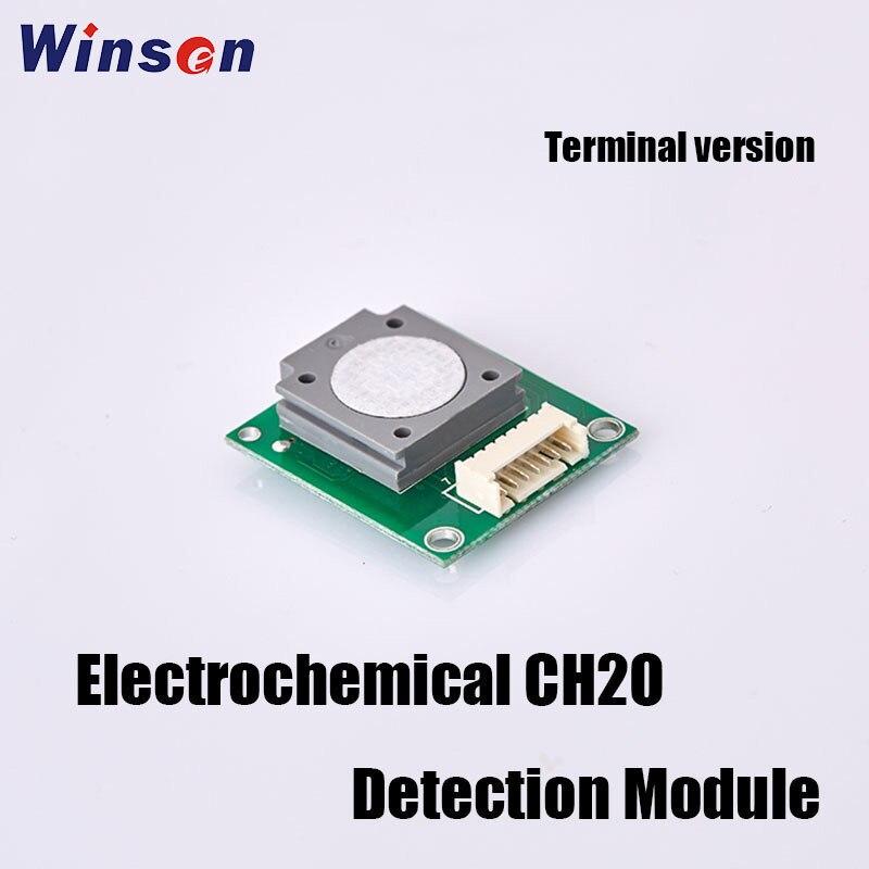 2PCS Winsen ZE08-CH2O/ZE08B-CH2O Formaldehyde Detection Module UART Output High Sensitivity & Resolution Good Stability