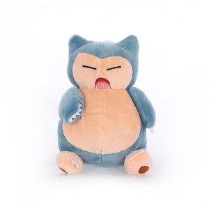 5 sztuk/partia 18cm śliczne Anime Snorlax zabawki pluszowe lalki kawaii Snorlax wisiorek miękkie nadziewane zabawki lalki prezenty dla dzieci dla dzieci