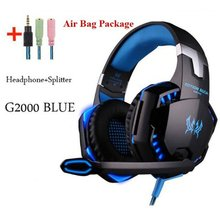 Gaming Headphones Headset Deep Bass Stereo wired gaming Earphone Microphone with backlit for PS4 phone PC Laptop Headphones cheap OUTAD Other 108dB None For Internet Bar for Video Game For Mobile Phone Sport HiFi Headphone Common Headphone Monitor Headphone