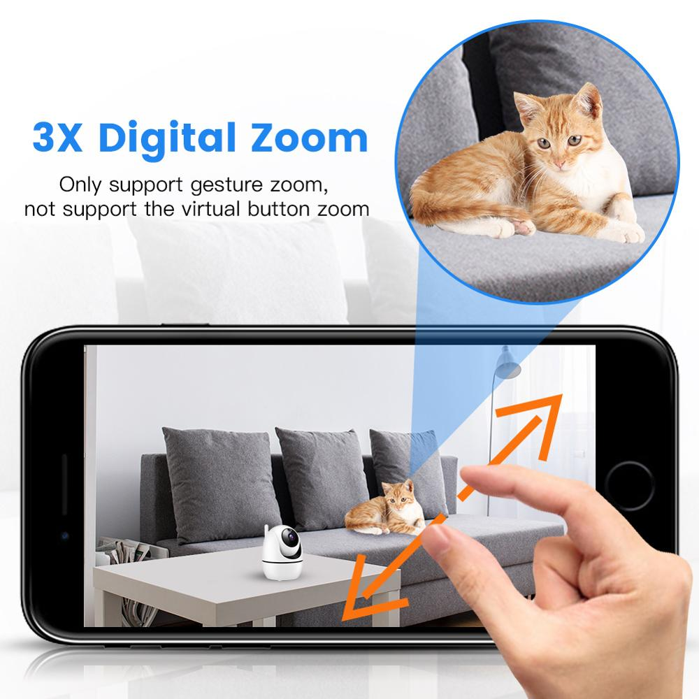 HD 1080P Wireless IP Camera WiFi Auto Tracking Human Home Security CCTV Wifi Camera ip cam audio camaras de vigilancia con wifi