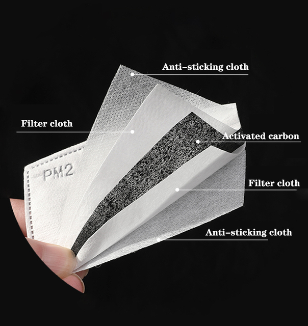 Anti Dust Face Masks PM2.5 Filter Mouth-Muffle Mask Skull Printing Bacteria Proof Flu Mask Reusable Protective Masks 5