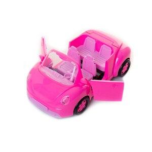 Image 4 - Świnka Peppa George zabawki czerwony samochód zestaw figurka figurki Anime zabawki dla dzieci zabawka z kreskówki dla dzieci świnka Peppa prezent urodzinowy