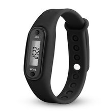 Pedometer Calorie Measurement Electronic Watch Sport Accessories Motion Distance Meter Run Step Watch Digital LCD(China)