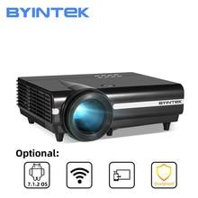 BYINTEK BT96plus LEDสมาร์ทAndroid Wifiราคาถูกโปรเจคเตอร์Full HD 3D 4K 200นิ้วโฮมเธียเตอร์