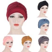 Новинка тесьма хиджаб женщины% 27 шапки весна лето мусульманин накидка тюрбан шапка мода хлопок внутренняя часть хиджабы капот готово носить одежда мусульманин 2021