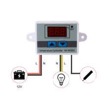LED Microcomputer Temperature Controller 220V 1500W Thermostat Digital Control Switch