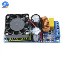 IRS2092S 500W Mono Amplifier Board Class D HIFI High Power Digital Amp 20Hz 20KHz Speaker Protection with Fans
