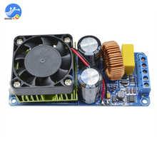 Irs2092s 500w mono amplificador placa classe d alta fidelidade de alta potência digital amp 20hz 20khz alto falante proteção com ventiladores