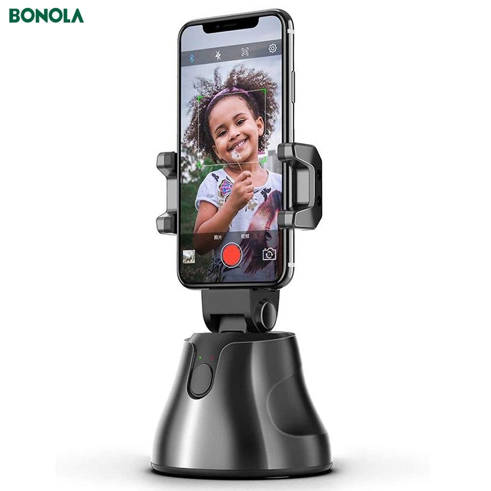 Bonola, palo de Selfie de disparo inteligente automático, cardán inteligente, composición IA, seguimiento de objeto, cámara de seguimiento facial, soporte de teléfono Almohadilla antideslizante agarre a tierra, suelas adhesivas antideslizantes, alfombrillas para zapatos