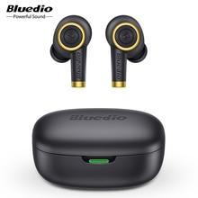 Bluedio Particle, Wireless Earphone, Bluetooth 5.0, Bass, Waterproof Earbuds, Wireless Headset, Sport, TWS, Charging Box, Mic