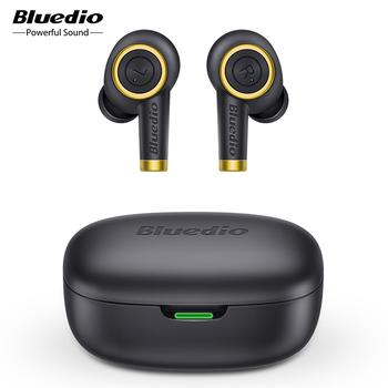 Bluedio Particle bezprzewodowe słuchawki Bluetooth 5 0 bas wodoodporne słuchawki douszne bezprzewodowy zestaw słuchawkowy Sport TWS etui z funkcją ładowania mikrofon tanie i dobre opinie Dynamiczny CN (pochodzenie) Prawdziwie bezprzewodowe 96±3dBdB Zwykłe słuchawki do telefonu komórkowego Słuchawki HiFi