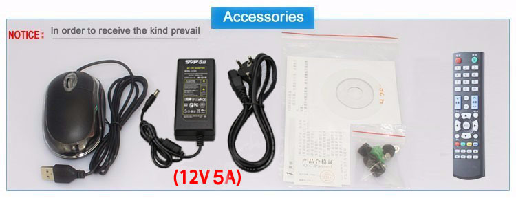 32ch wifi nvr accessoriess pciture show