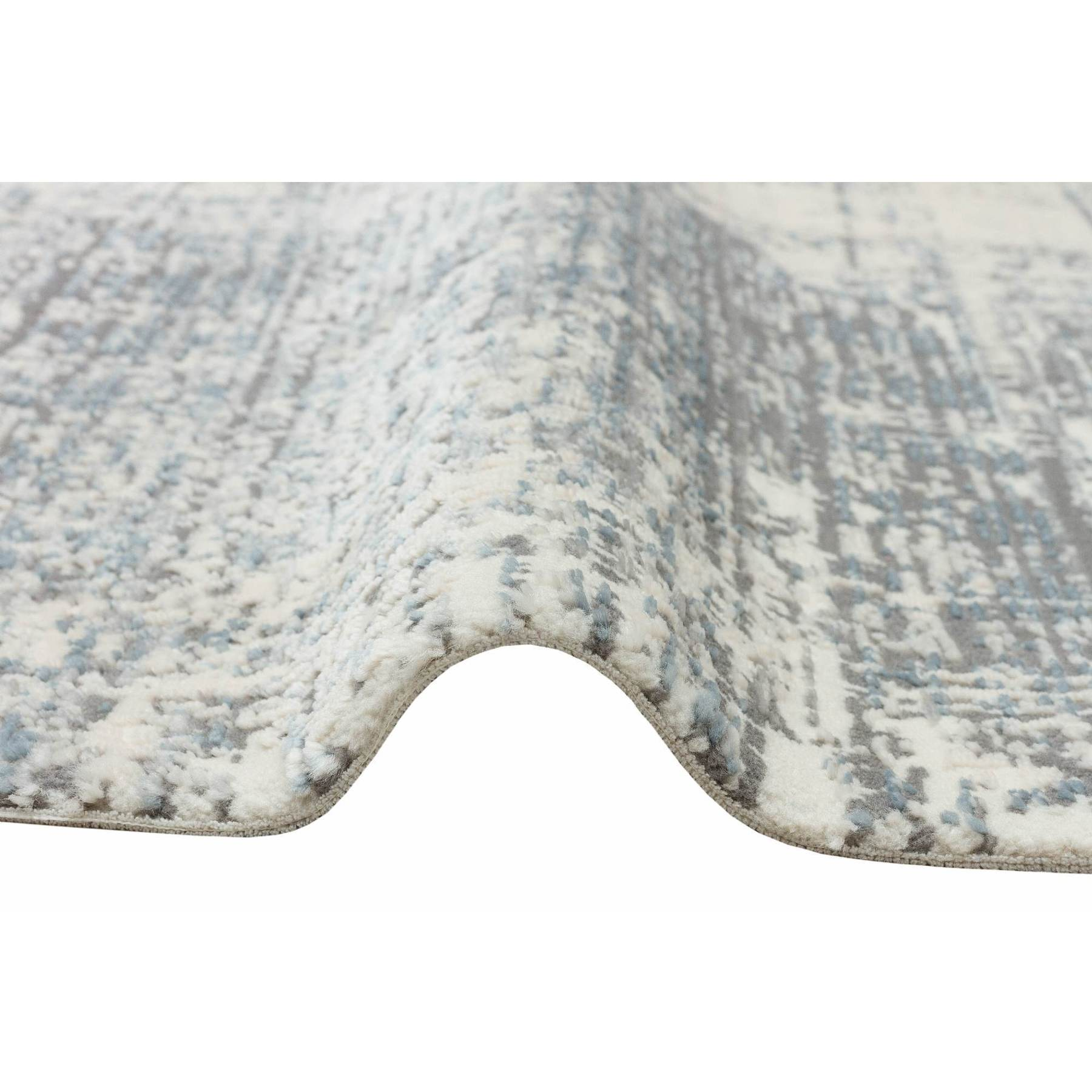 Apex Лофт 8 'x 11' полипропиленовый синий ковер