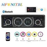 Car Radio 1 Din MP3 Player Stereo AutoRadio Multimedia Player Bluetooth Handsfree Call Aux USB SD card In Dash FM Remote Control