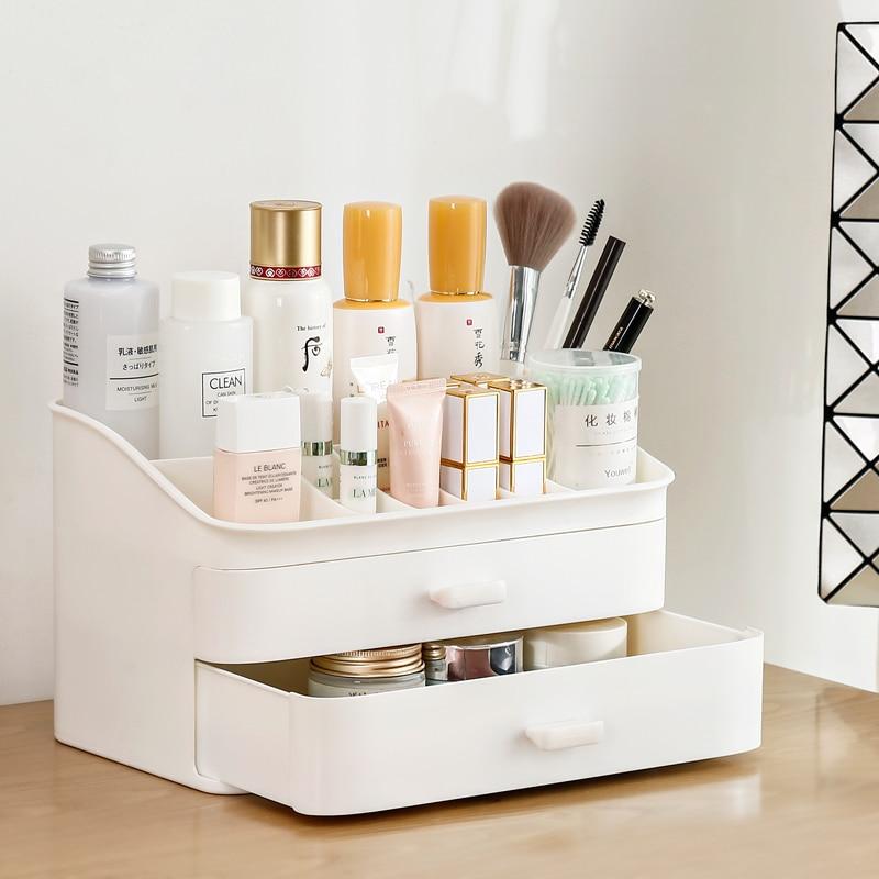 Best Price for  Drawer type cosmetics storage box / makeup brush / nail polish / lipstick storage box storage rack