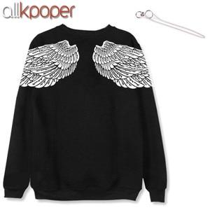 ALLKPOPER KPOP V Hoodie Bangtan Boys Hoodies Sweatershirt Gift (V Stud Earrings(1pcs)) K-POP sudadera mujer